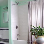 Caught In The Undertone: Painting A Bathroom Mint
