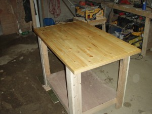 New Work Bench