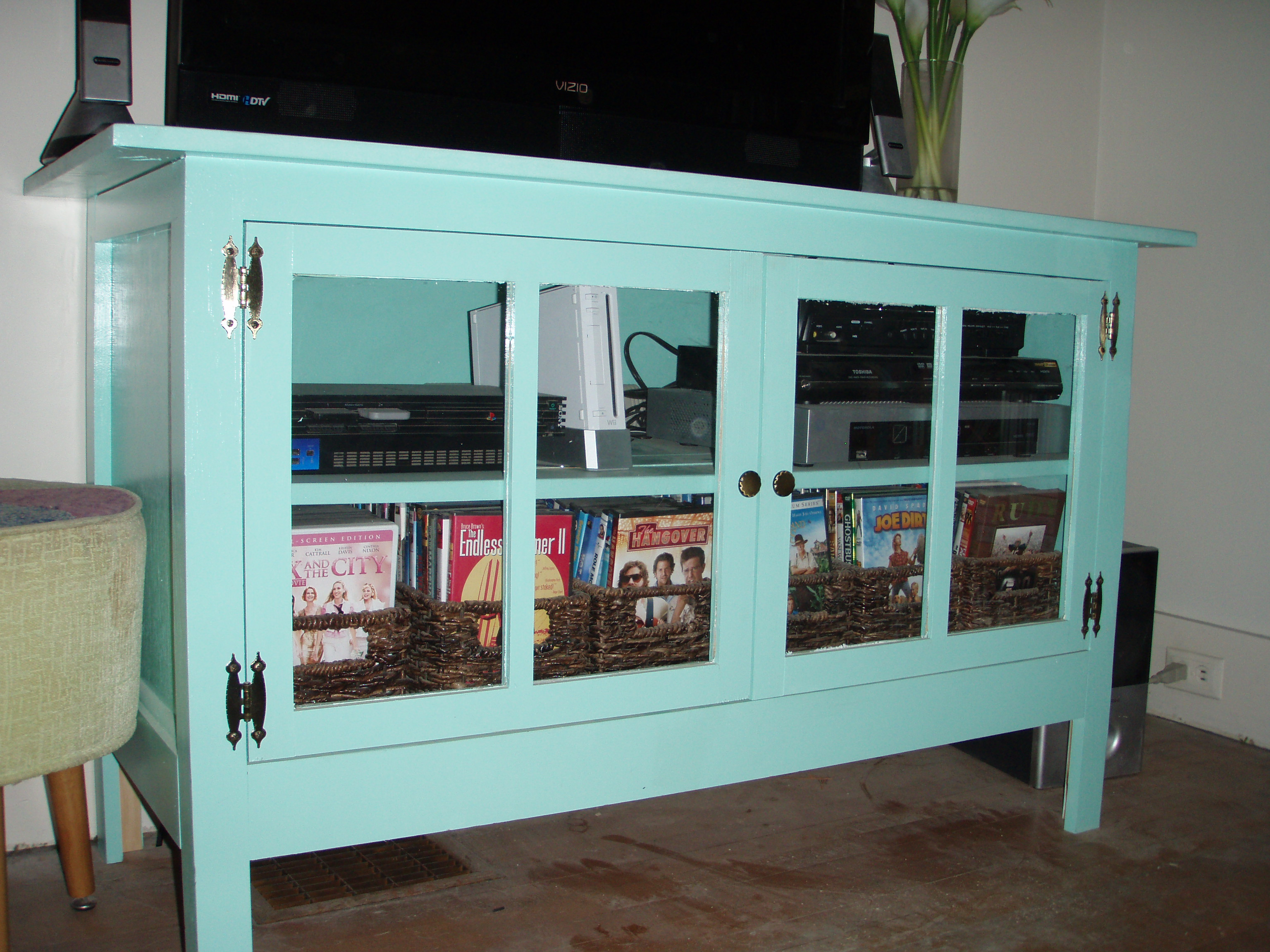 Cottage Style Media Cabinet Angie S Roost