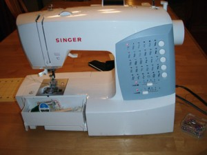 Ms. Singer Sewing Machine