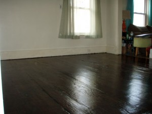 Refinished Parlor Floor
