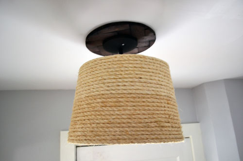 Rope Lamp Shade