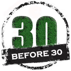 30 Before 30 Logo