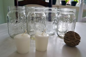Mason Jar Candle Supplies