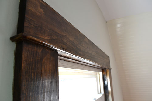 Dark Walnut Stained Trim Angie S Roost