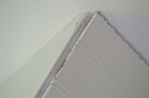 Bead Board Corner Gaps