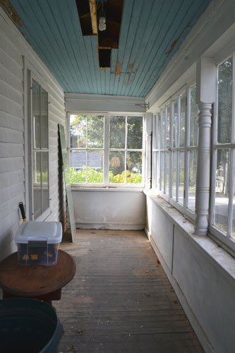 Empty Porch