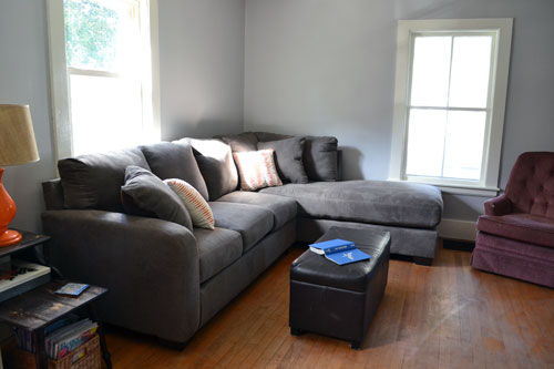 New Couch With New Pillows