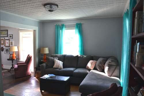 Beau Living Room Curtains Angieu0027s Roost Part 98 Turquoise And Gray Peenmedia  Com Fruitesborras 100 Images The Best