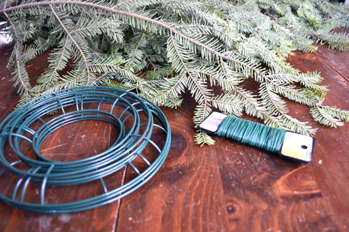 Christmas Wreath Making Materials