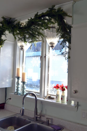 Garland Above Kitchen Sink