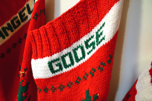 Goose's Christmas Stocking