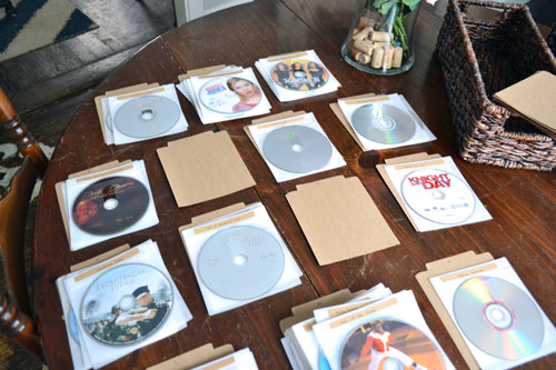Alphabetizing DVDs