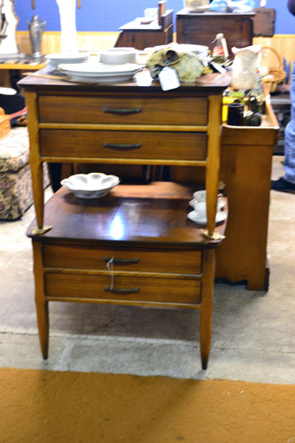 Antique Mid Century Night Stands