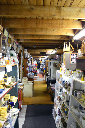 Big Chicken Barn Antiques First Floor