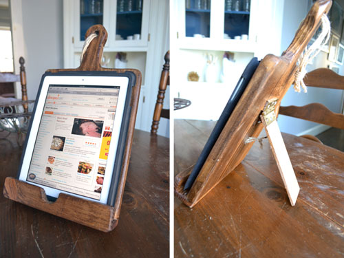 ipad stand angie 39 s roost. Black Bedroom Furniture Sets. Home Design Ideas