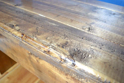 Rustic Bench Top