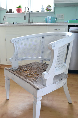 Spray Painted Thrift Store Chair