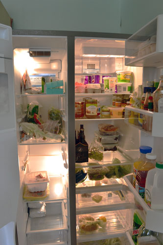 Stocked Refrigerator