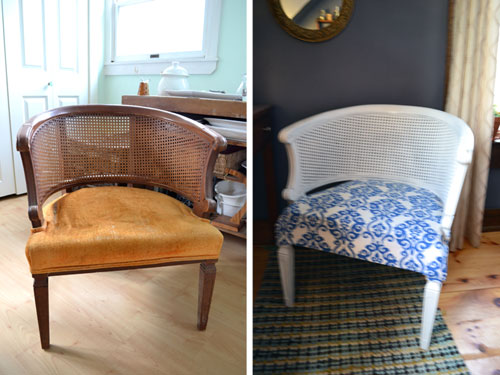 Thrift Store Chair Makeover Before And After Angie S Roost