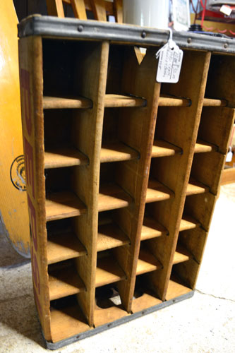 Wooden Crate For Bottles