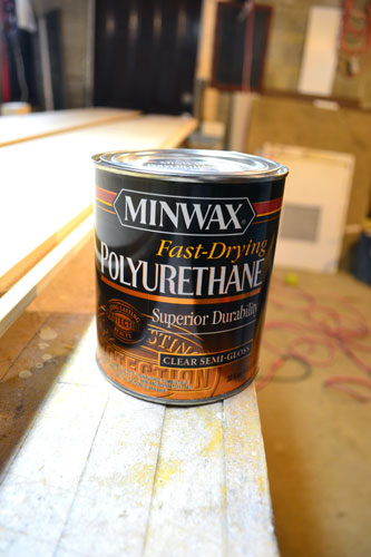 Minwax Semi Gloss Poly