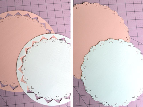 Trimming Paper Borders