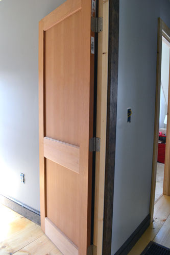Guest Bedroom Door And Trim