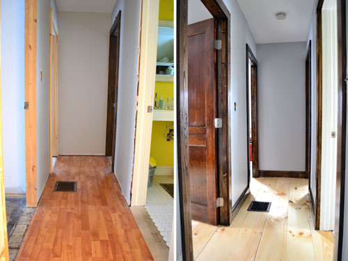 Hall Trim And Flooring Comparison