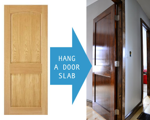 How To Hang A Door Slab