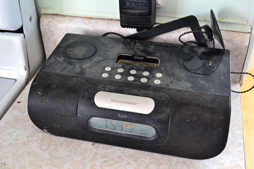 Old Kitchen Radio