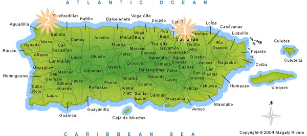 Where Puerto Rico Located Puerto Rico Adventures Where