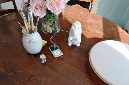 West Elm Squirrel Speaker In The Dining Room