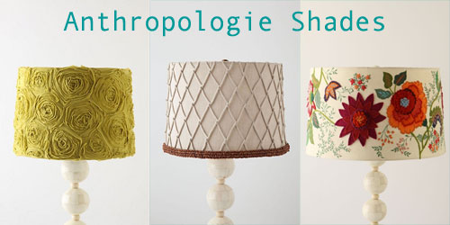 Anthropologie Lamp Shade Inspiration