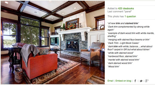 dark wood trim living room ideas dark trim living room houzz angies roost