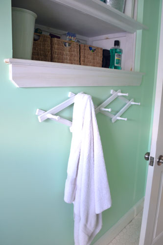 Hat Rack Towel Hooks