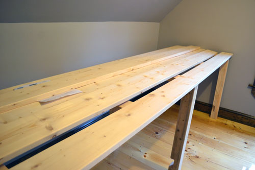 Adding Desk Top Planks