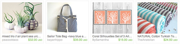 Beachy Etsy Faves Beachy