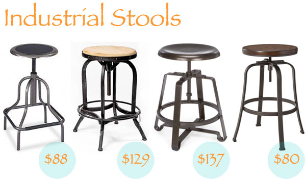 Industrial Stool Options