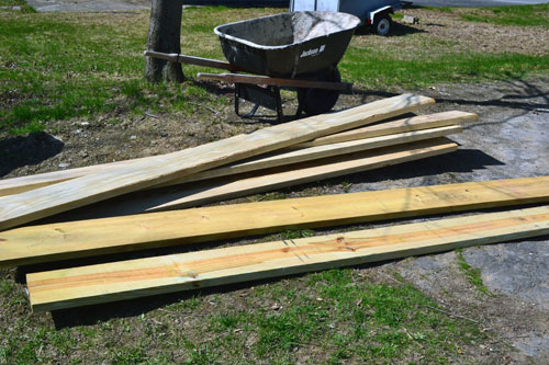 Lumber For Raised Beds
