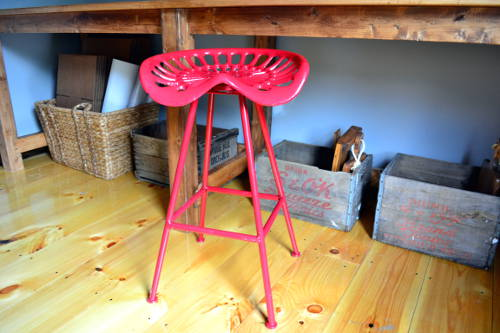Tractor Seat Stool From Home Goods
