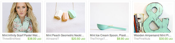 Etsy Faves Minted