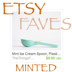 Etsy Favorites Minted