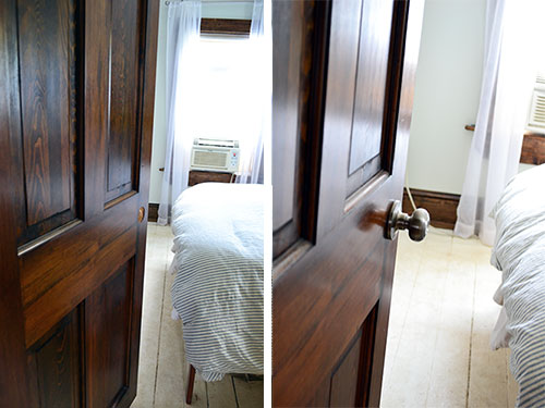 Master Bedroom Doorknob Installation