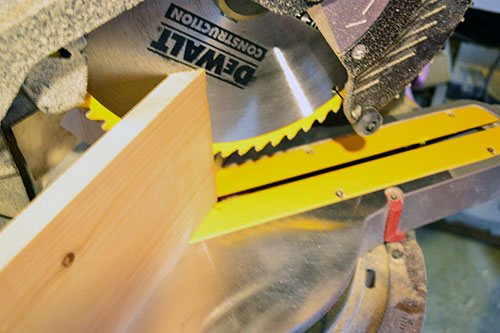 Miter Cuts For Beadboard Beams