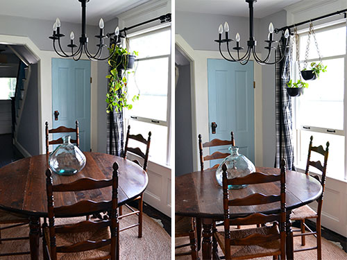 Plant Hangers Before And After