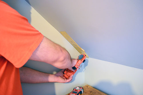 Use Shims To Level Beadboard