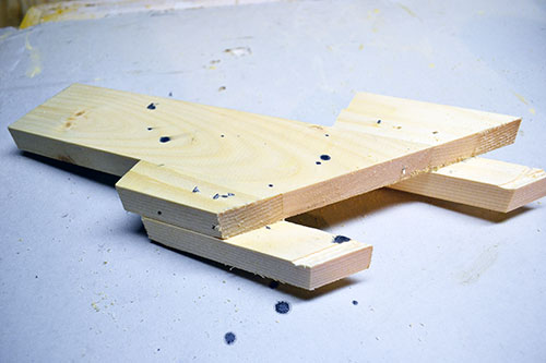 Wood Jig For Routing