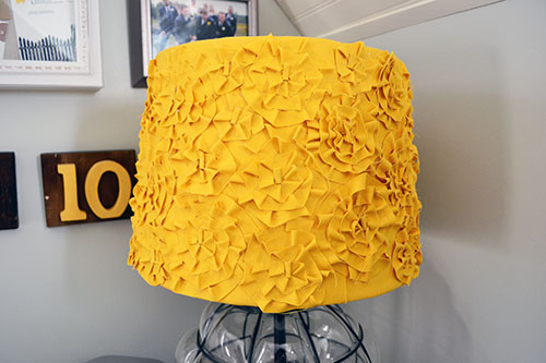 Anthro Rosette Inspired Lamp Shade
