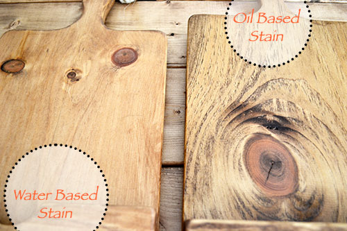 Water Based Wood Stain Vs Oil Based Stain